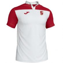 Mitchelstown Tennis Club Joma Crew III Polo White/Red Adults 2019